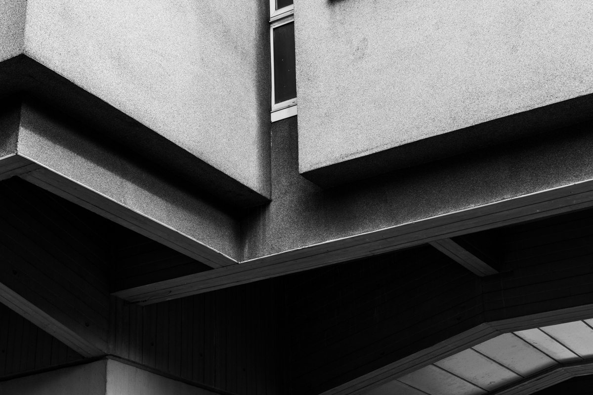 Image: Close-up of concrete architecture in Coventry by Garry Jones