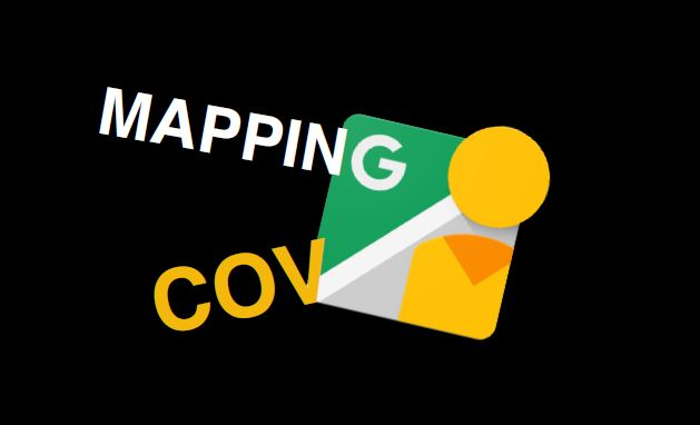 Mapping Cov title page, showing the Google Maps app icon