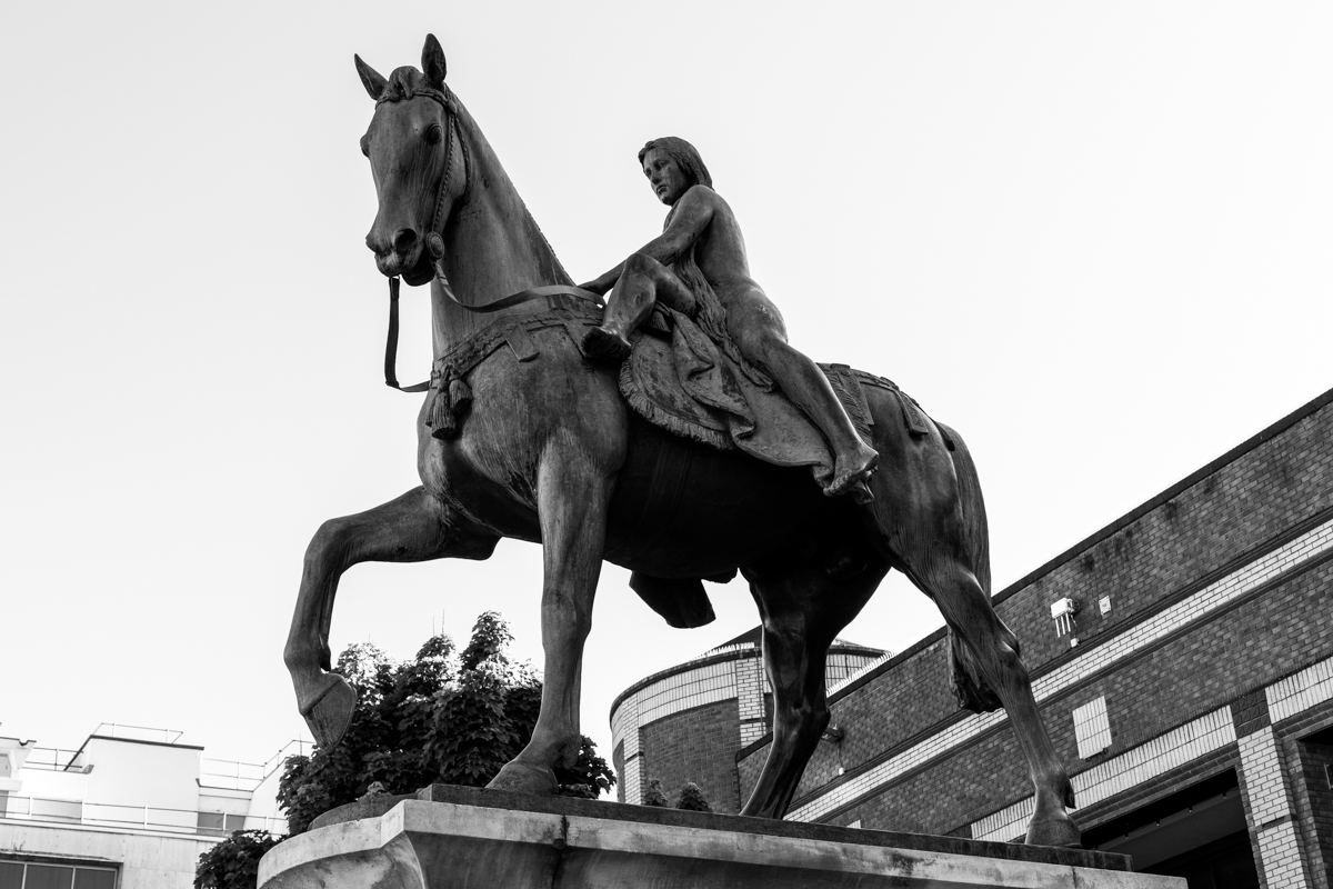 Image: Lady Godiva Statue by Garry Jones Photography